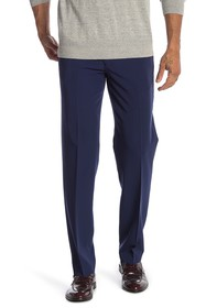 Nautica Solid Woven Stretch Fit Pants - 30-34\