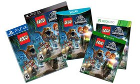 LEGO Jurassic World Video Game for PS3, PS4, Vita,