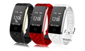 S2/S2 Color 0.96'' Touch Screen Fitness Tracker Wa