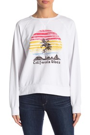 C & C California Raglan Sleeve Sweatshirt