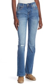 Seven7 Mid-Rise Boot Cut Jeans