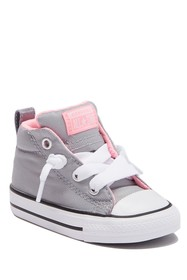 Converse Padded Cuff Lace-Up Sneakers (Toddler)