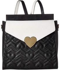 Betsey Johnson Heartbeat Quilt Backpack