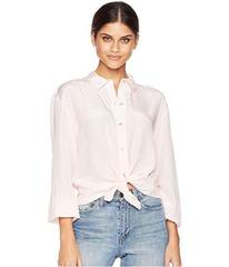 Juicy Couture Soft Woven Silk w/ Lace Back Shirtin