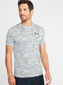 Go-Dry Eco Camo-Print Performance Tee for Men