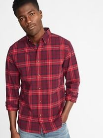 Slim-Fit Built-In Flex Everyday Oxford Shirt For M