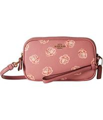 COACH Crossbody Clutch With Floral Print