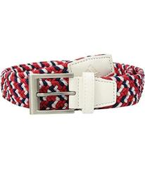 adidas Golf Braided Weave Stretch USA Belt