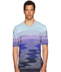 Missoni Fiammato Short Sleeve Sweater