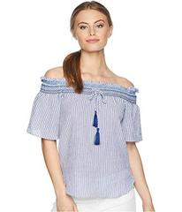 LAUREN Ralph Lauren Petite Off the Shoulder Cotton