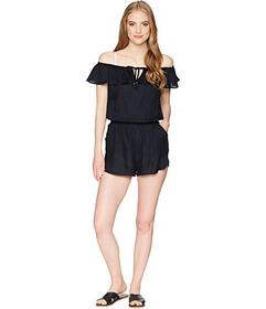 Roxy Western Holiday Romper Cover-Up