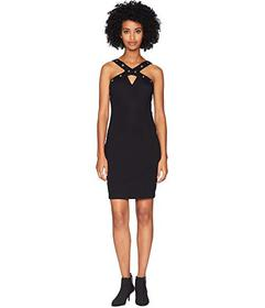 Versace Jeans Couture Grommet Sleeveless Dress