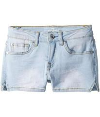 7 For All Mankind Denim Shorts in Cloud Blue (Big