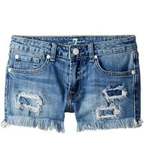 7 For All Mankind Denim Shorts in Melbourne Sky (B