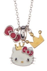 Hello Kitty Hello Kitty Sterling Silver & Gold Pla