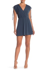 BCBGeneration Drawstring Sleeve Dress