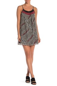 BCBGeneration Printed Cami Dress