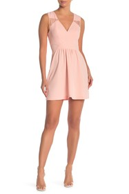 BCBGeneration Mesh Cutout Dress