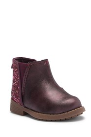 OshKosh Daria Glitter Ankle Boot (Toddler & Little