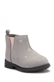 OshKosh Daria Star Print Ankle Boot (Toddler & Lit