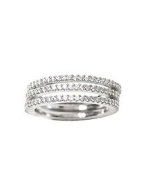 Pave Stack Rings