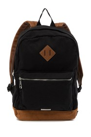 Madden Girl Large Canvas School Backpack