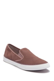 Sperry Seaside Embossed Suede Slip-On Sneaker