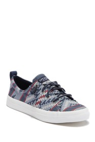 Sperry Crest Vibe Printed Lace-Up Sneaker