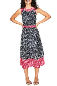 BODEN Sylvie Print Sleeveless Dress