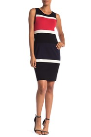 Jones New York Colorblock Sweater Dress