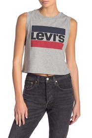 Levi's Graphic Crop Tank