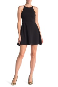 Love...Ady Textured Skater Dress