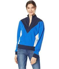 Juicy Couture Track Terry Color Block Zip-Up Pullo