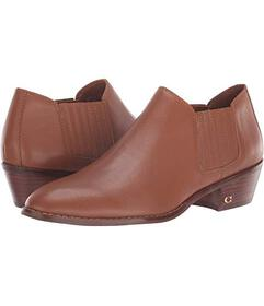 COACH Leather Ankle Bootie