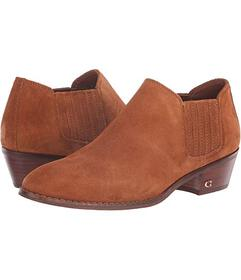 COACH Suede Ankle Bootie