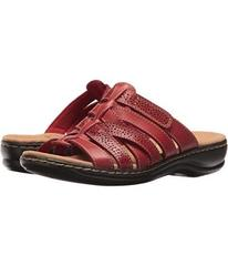 Clarks Red Leather