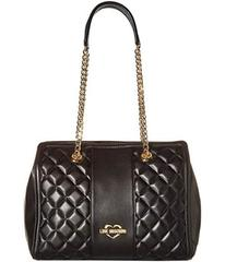 LOVE Moschino Quilted Shoulder Bag Chain Strap