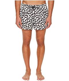 Dolce & Gabbana Abstract Short Boxer Swimsuit w/ B