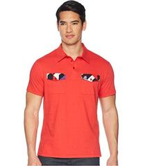 Versace Jeans Couture Double Pocket Polo with Back
