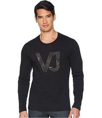 Versace Jeans Couture Metal Spike Logo Long Sleeve
