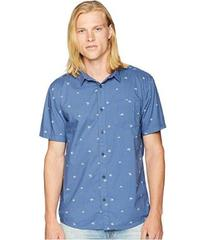 Quiksilver Fuji Mini Motif Short Sleeve Woven Top