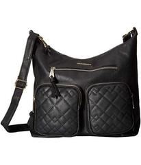 Rampage Quilted Mixed Stitched Hobo