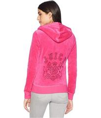 Juicy Couture Track Velour Collegiate Juicy Robert