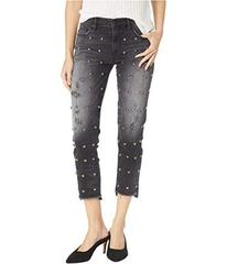 Juicy Couture Denim Stud Embellished Black Boyfrie