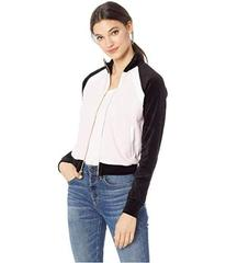 Juicy Couture Velour Color Blocked Zip-Up