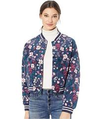 Juicy Couture Floral Quilted Bomber Jacket