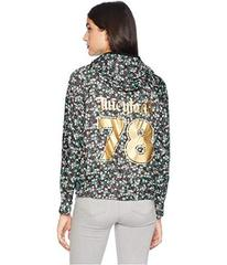 Juicy Couture Hard Woven Juicy Land Floral Packabl