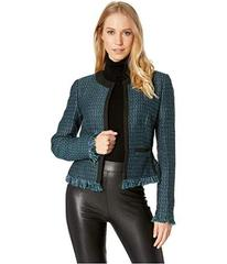 Juicy Couture Hard Woven Chateau Tweed Jacket