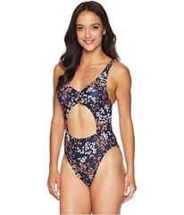 MICHAEL Michael Kors Scattered Blooms One-Piece Sw