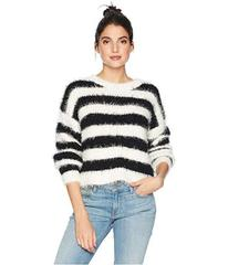 Juicy Couture Striped Slouchy Pullover